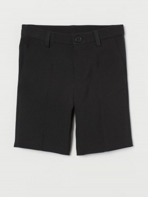 Шорты H&M Suit Shorts черный H&M