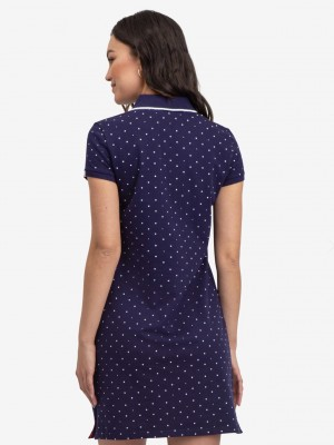 Платье U.S. POLO ASSN. Dot polo dress синий U.S. POLO ASSN фото 1
